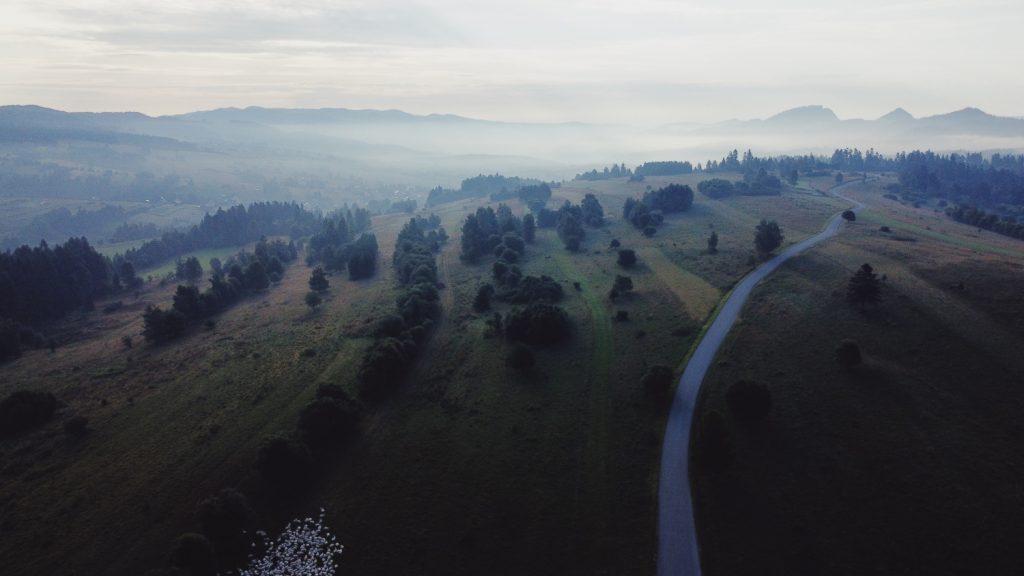 Pieniny zdjęcie z drona Mavic Mini