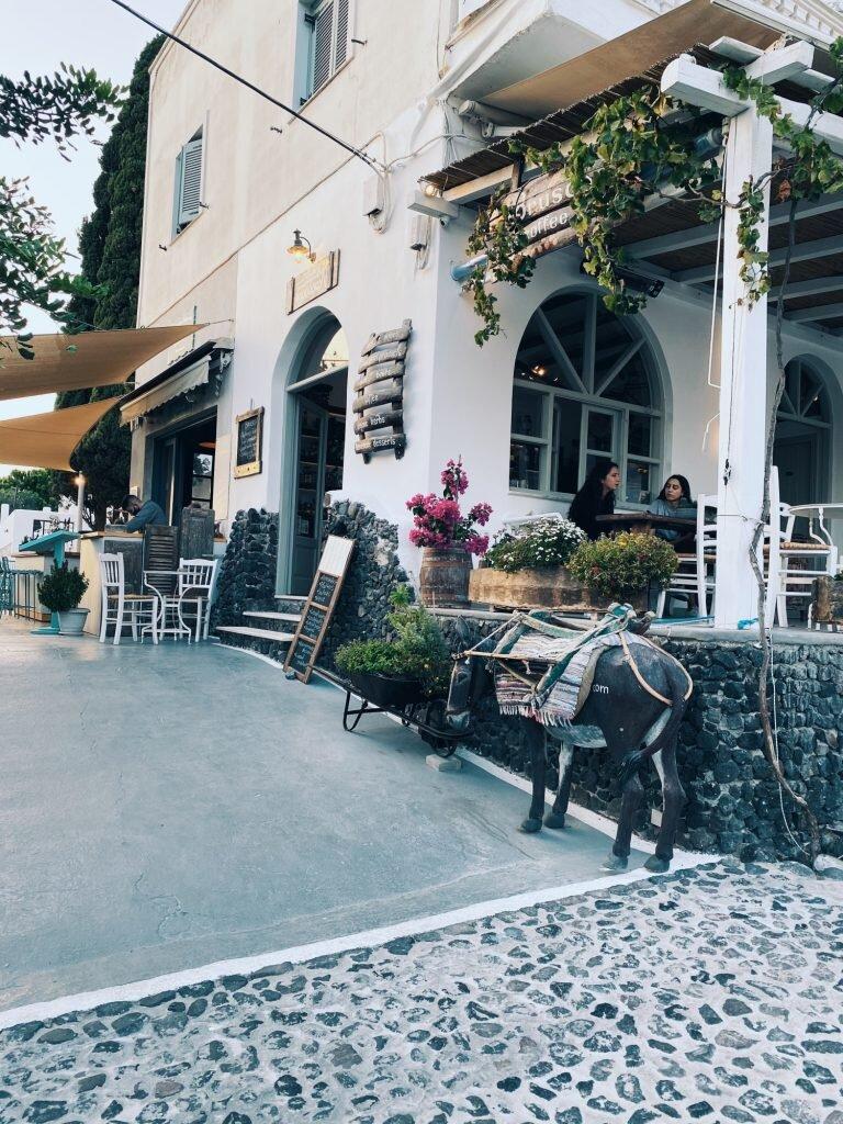 Jedna z restauracji w Pyrgos