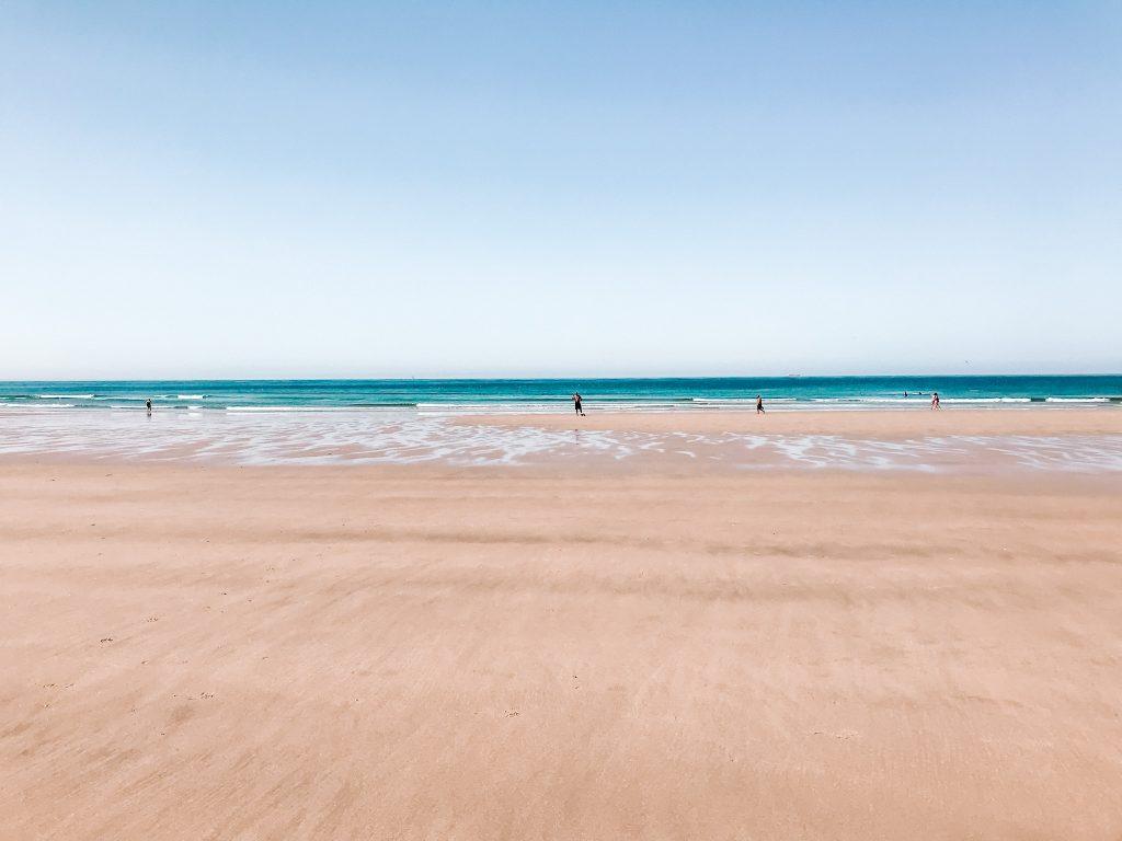 Plaża nad Atlantykiem