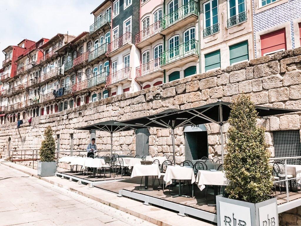 Północny brzeg rzeki Douro
