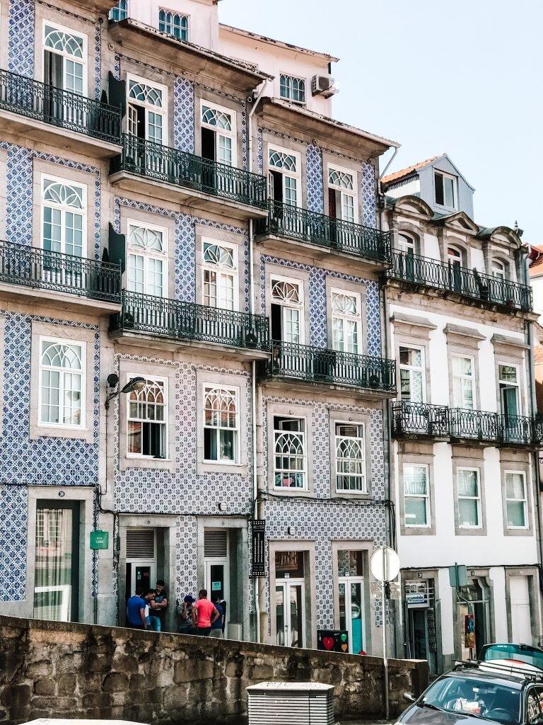 Typowa architektura Porto