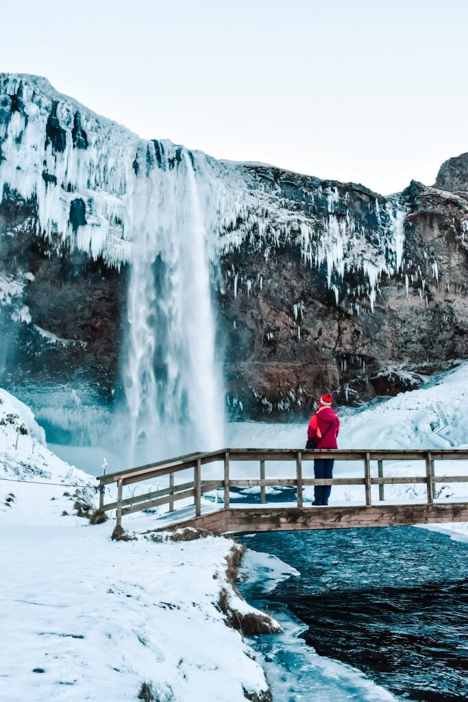 Okolice wodospadu Seljalandsfoss