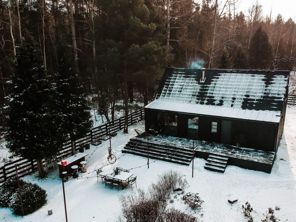 Tu Domek z drona