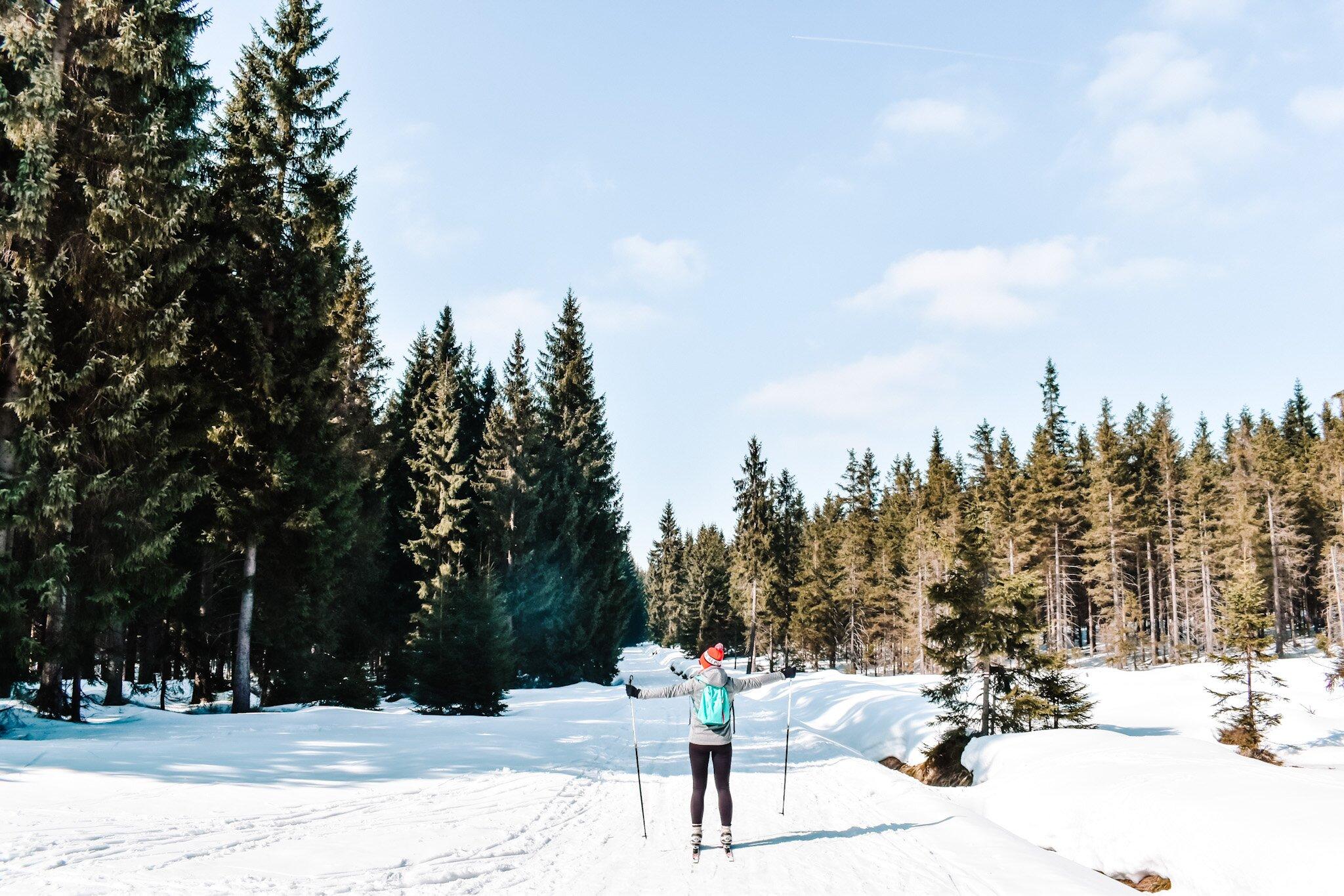 [Dolny Śląsk] Aktywny wypad z biegówkami w roli głównej