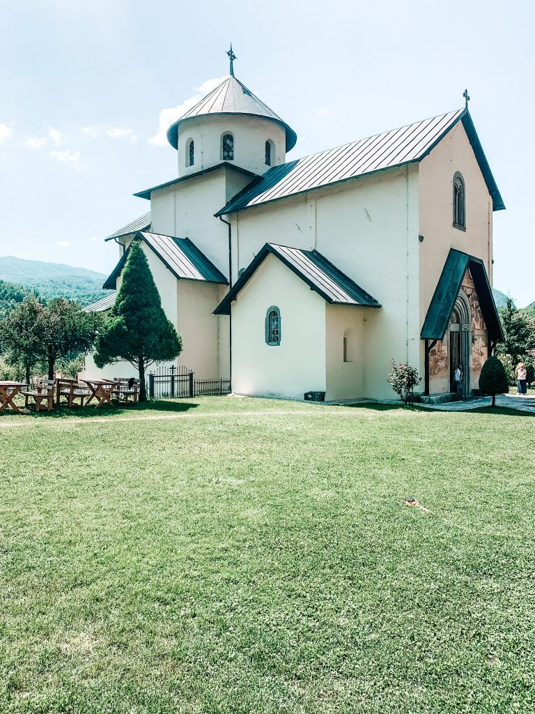 Cerkiew w Monastyry Moracza, Czarnogóra