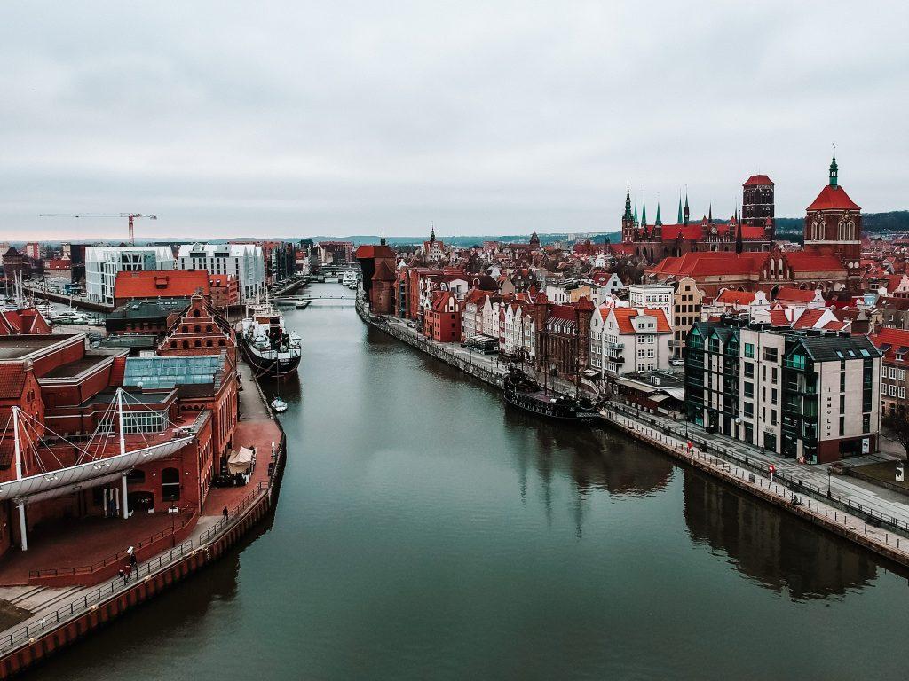 Gdańsk - zdjęcie z drona