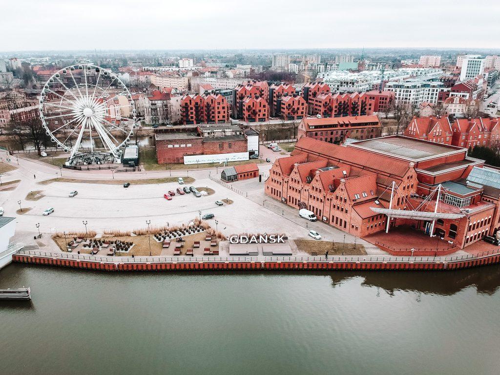 Panorama Gdańska