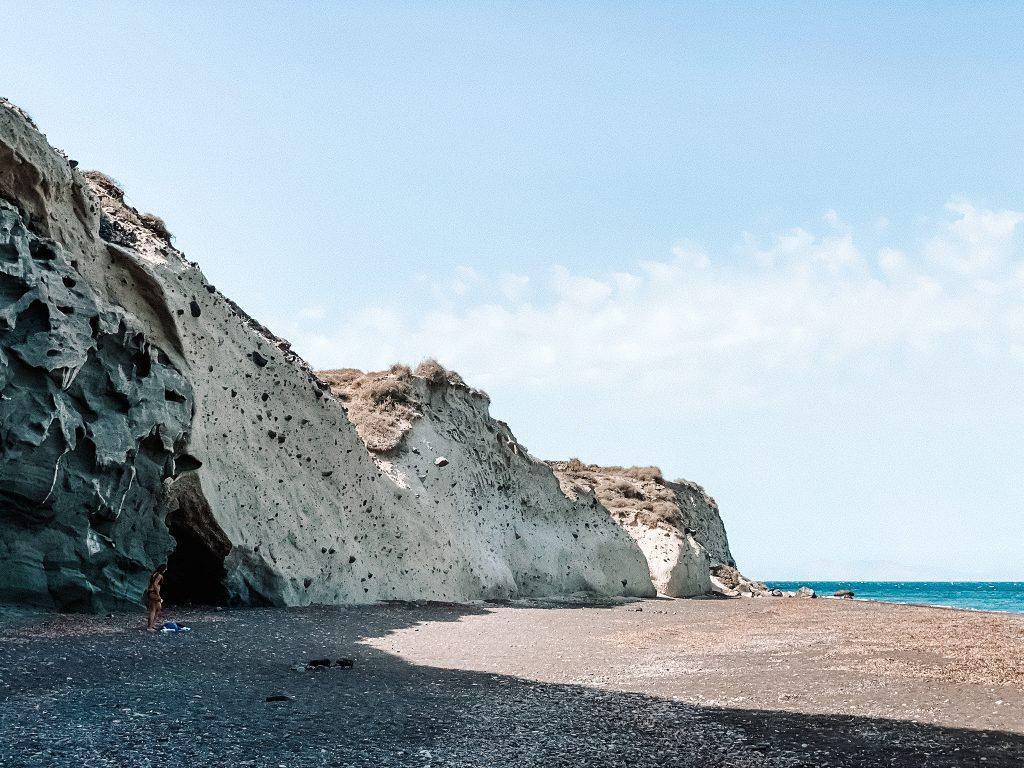 Plaża Capo Colombo Santorini