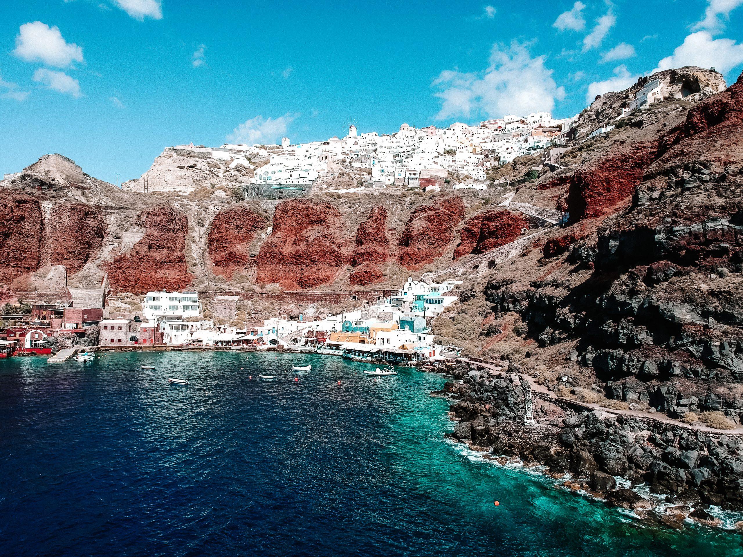 Santorini – co warto zobaczyć. Lista miejsc + mapka