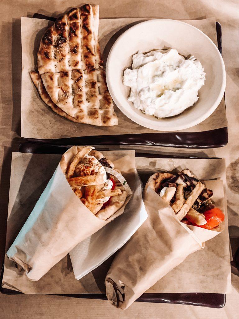 Gdzie jeść w Oia blog