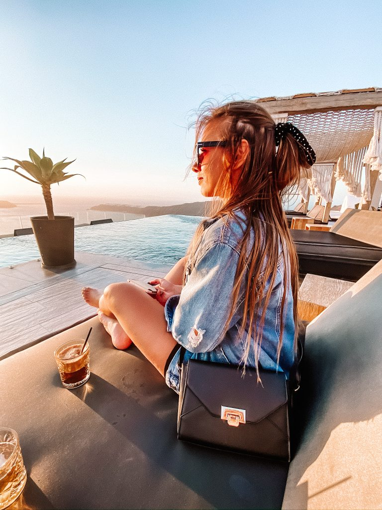 Gdzie jeść na Santorini blog