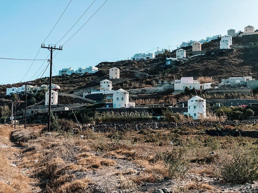 Wiatraki, Santorini blog