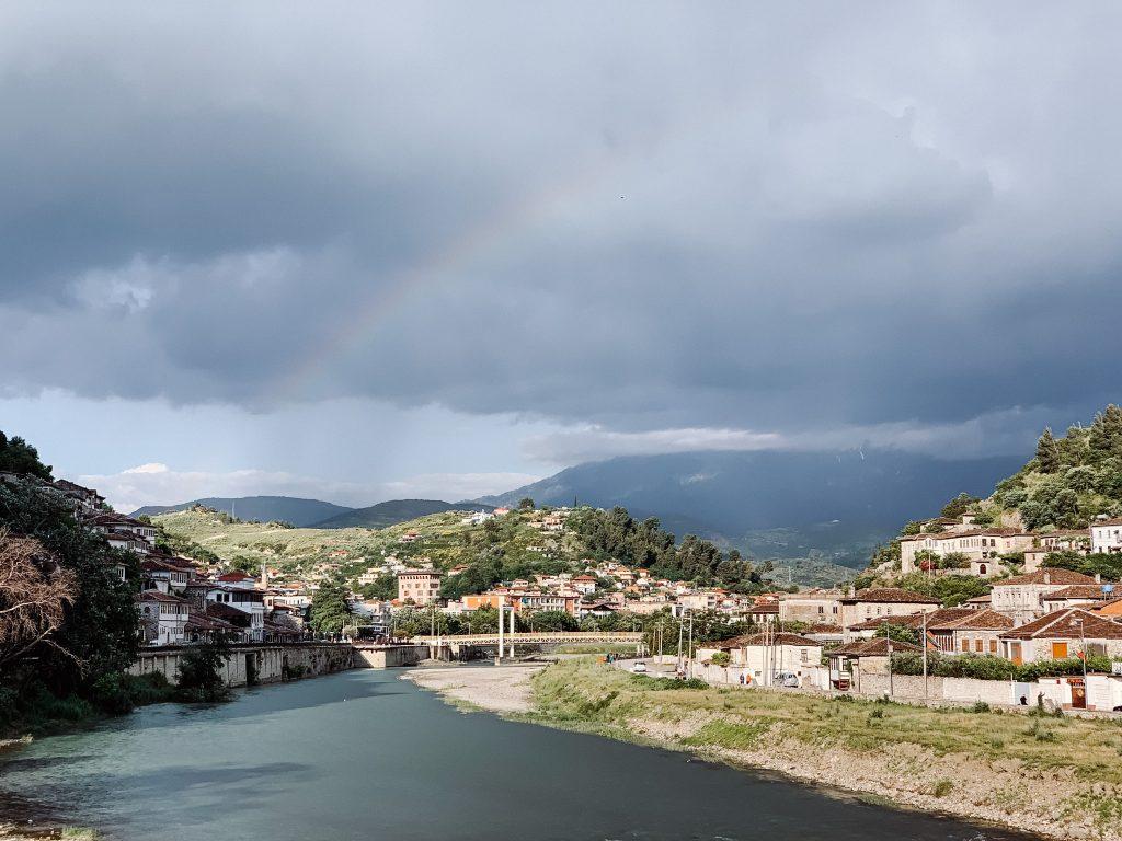 Panorama miasta Berat