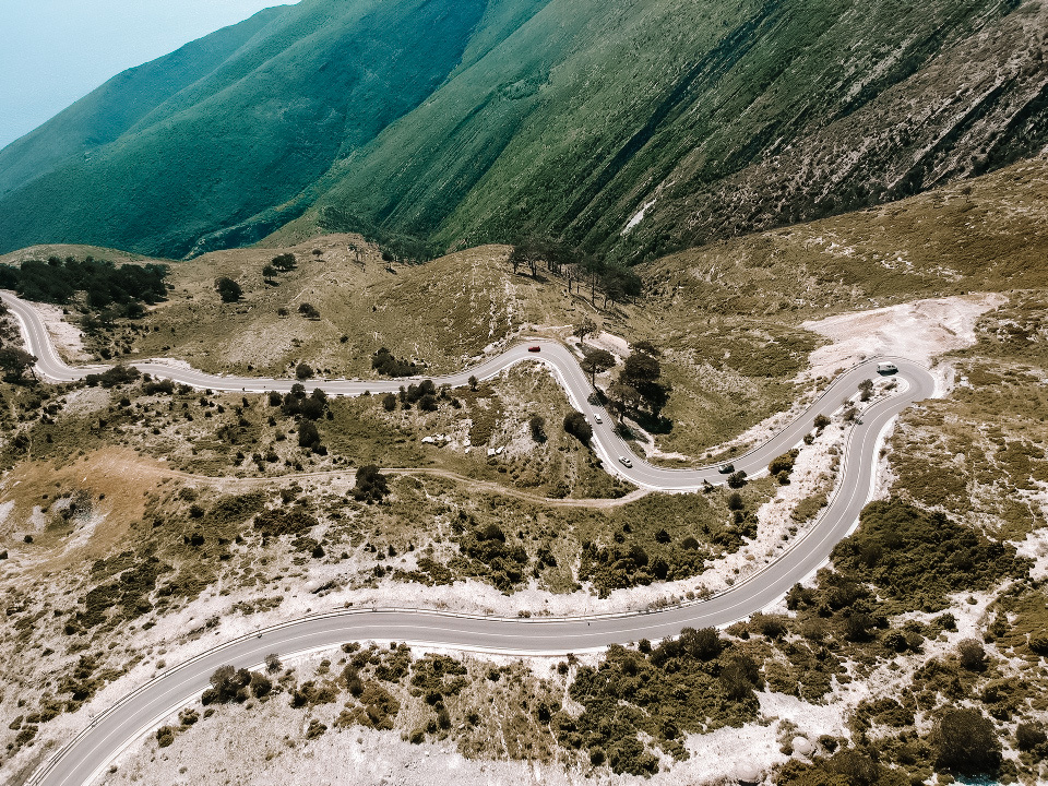 Przełęcz Llogara