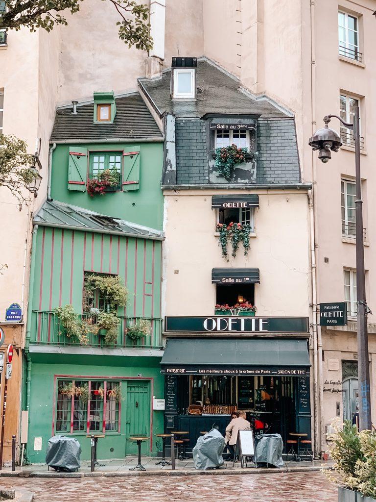 Kawiarnie Paryż