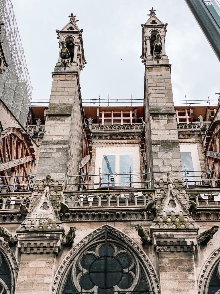 Notre Dame, Paryż blog