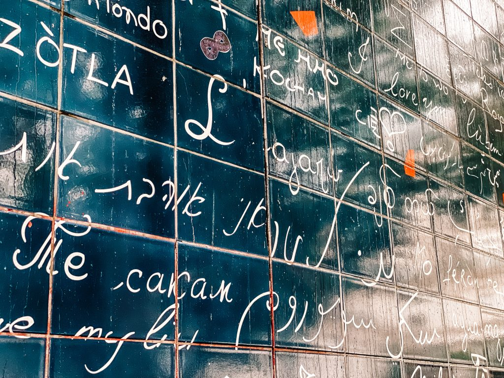 Wall of love, Paryż