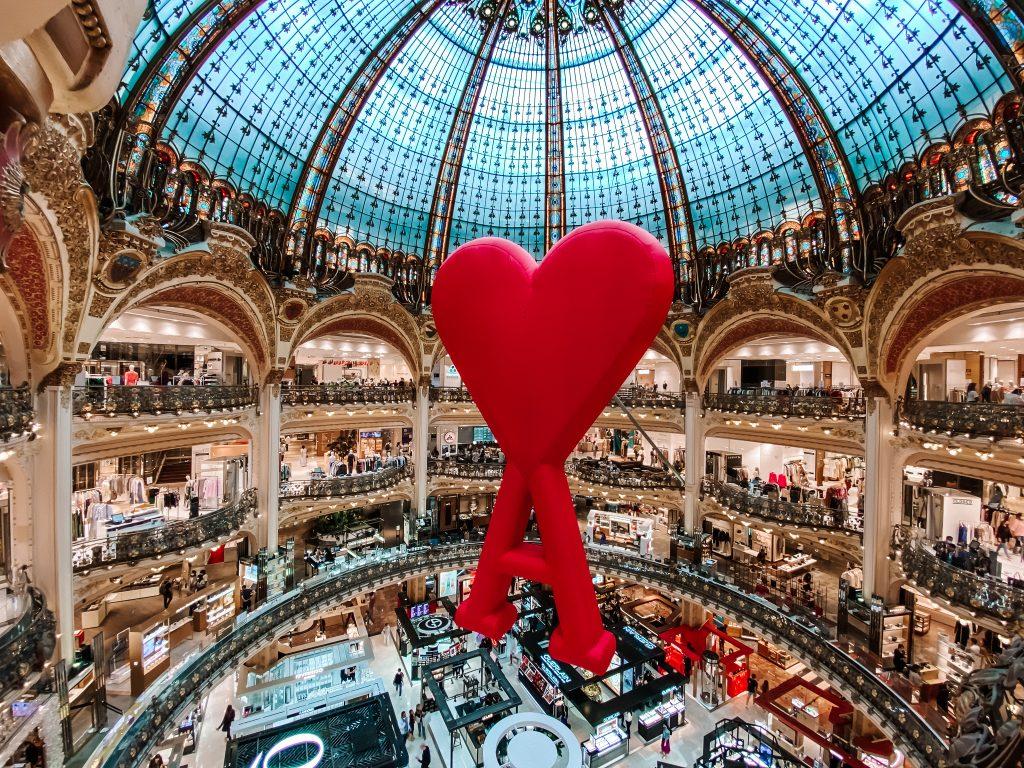 Galeria Lafayette, Paryż co zobaczyć