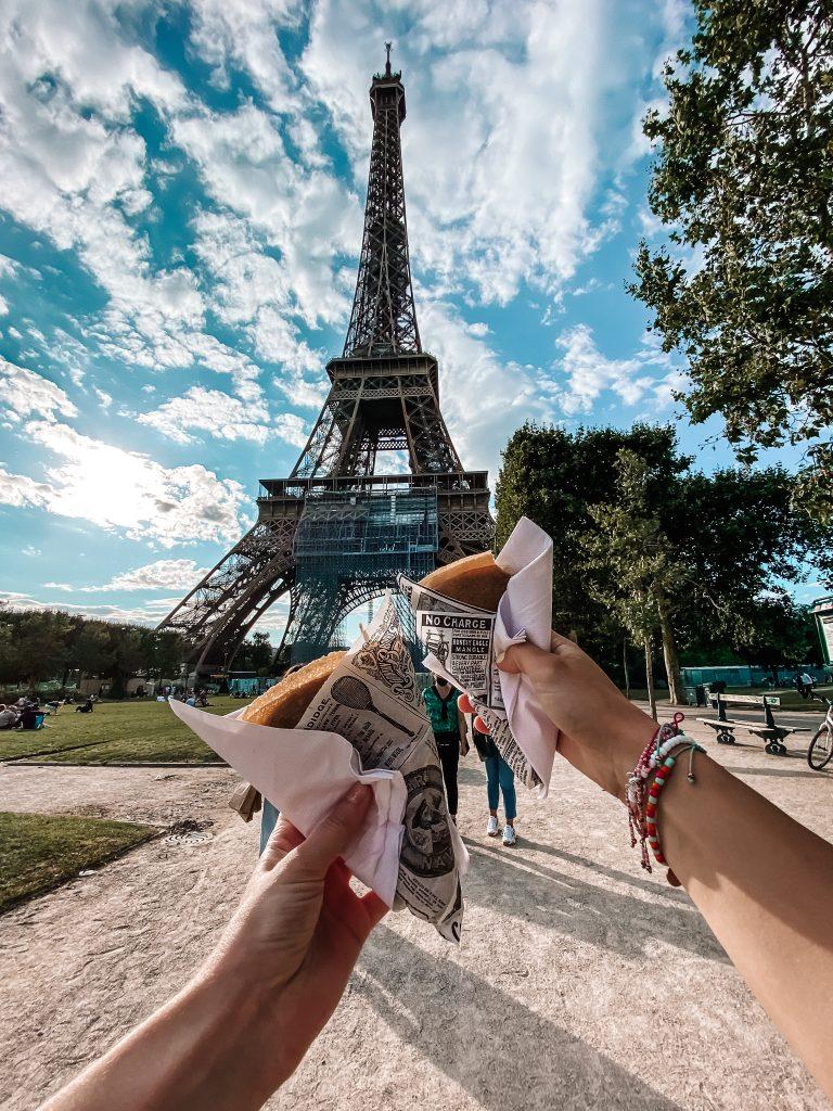 Wieża Eiffla, Paryż blog