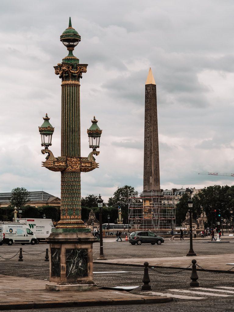 Plac Zgody, Paryż blog