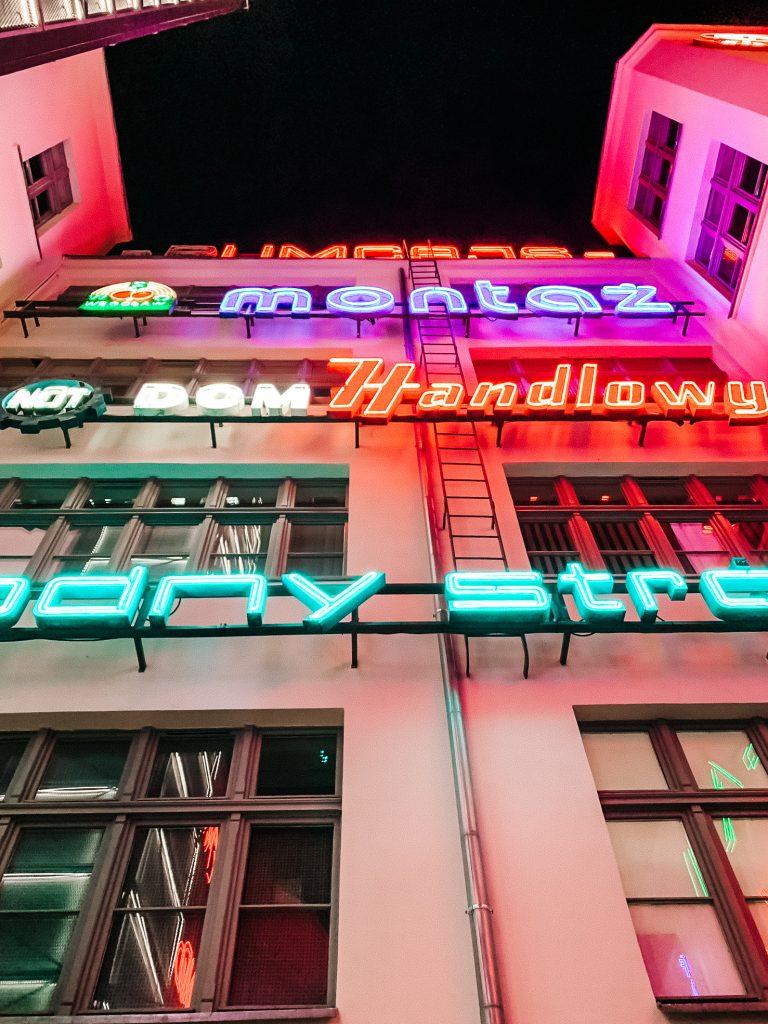 Wrocławskie neony